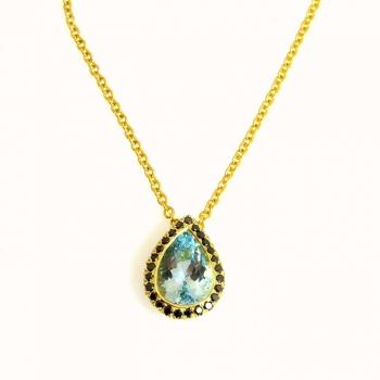 -Aquamarine pendant