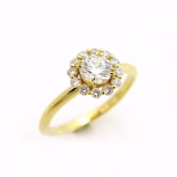 -Round diamond ring