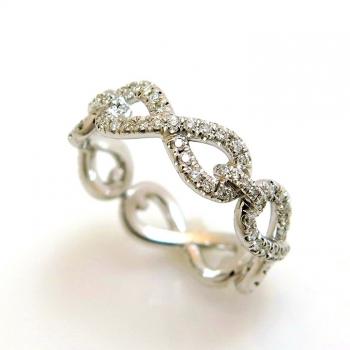 -Infintiy diamond ring